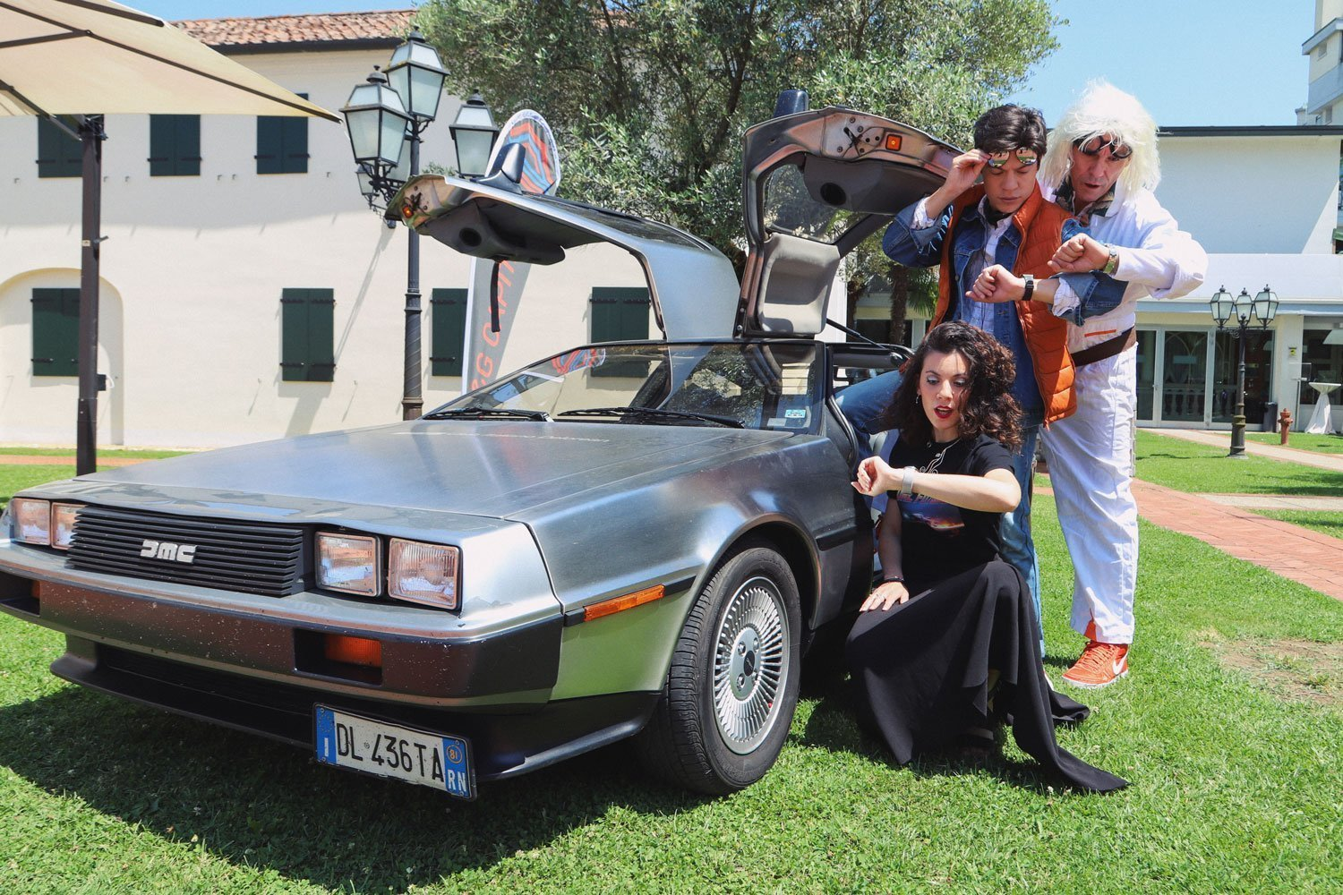 marty doc delorean